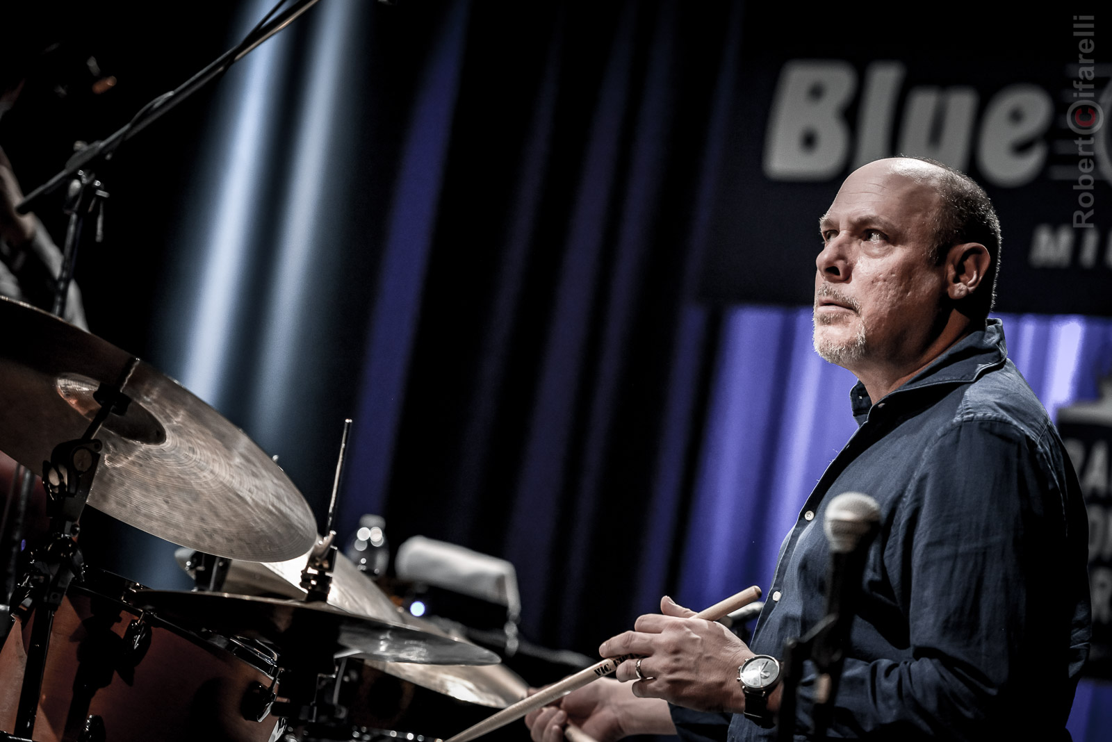Jeff Ballard Fly Trio At Bluenote In Milan