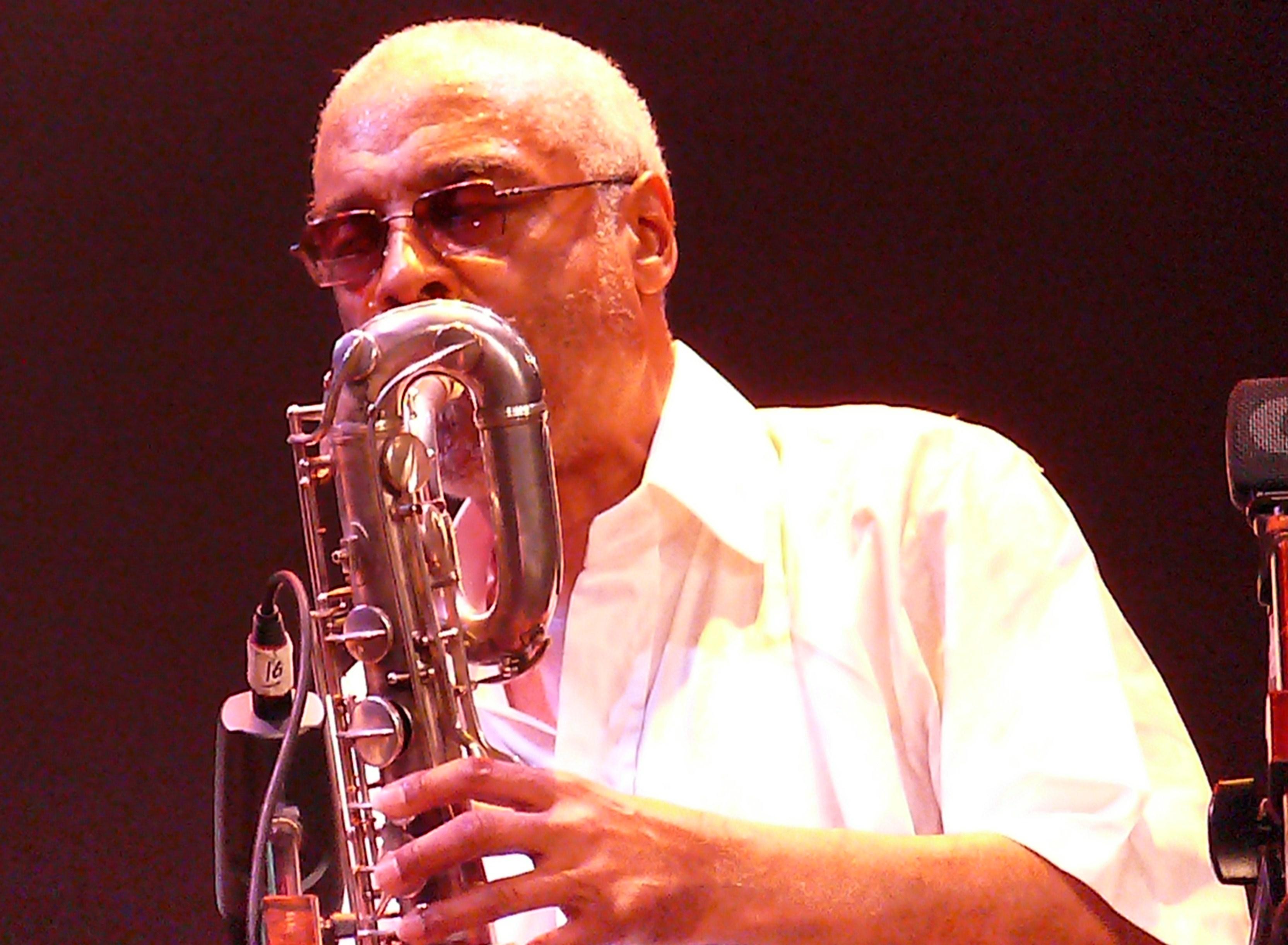 Hamiett Bluiett at Vision Festival 2011