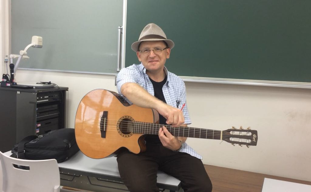Machrijam in the classroom