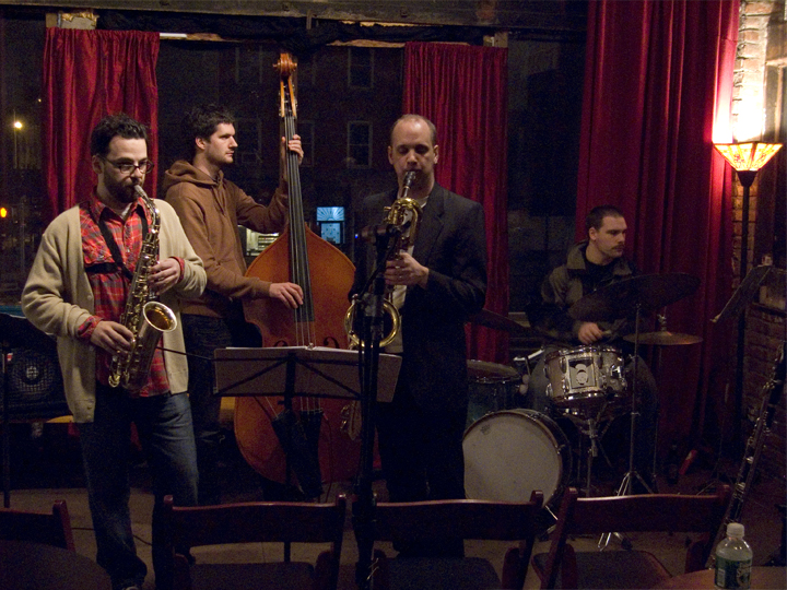 Holus-Bolus with Josh Sinton, Jeremy Udden, Peter Bitenc and Mike Pride - Brooklyn Lyceum 2007