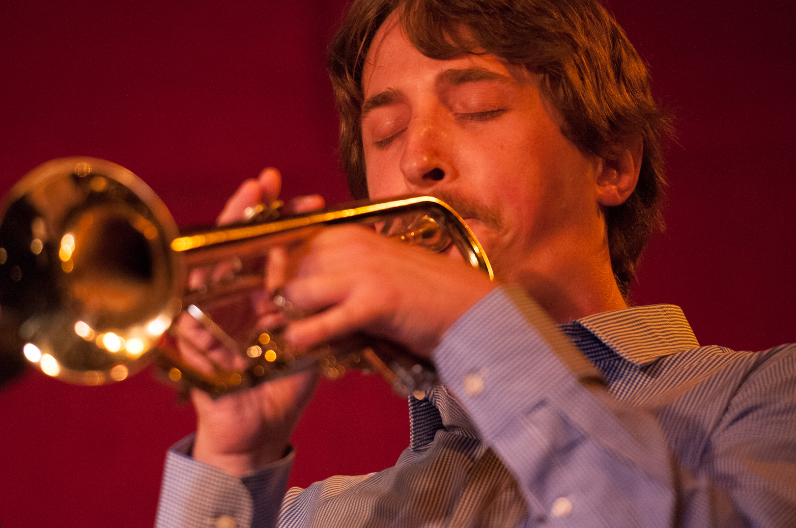 Dan Rosenthal with the Either/Orchestra at the Jazz Standard