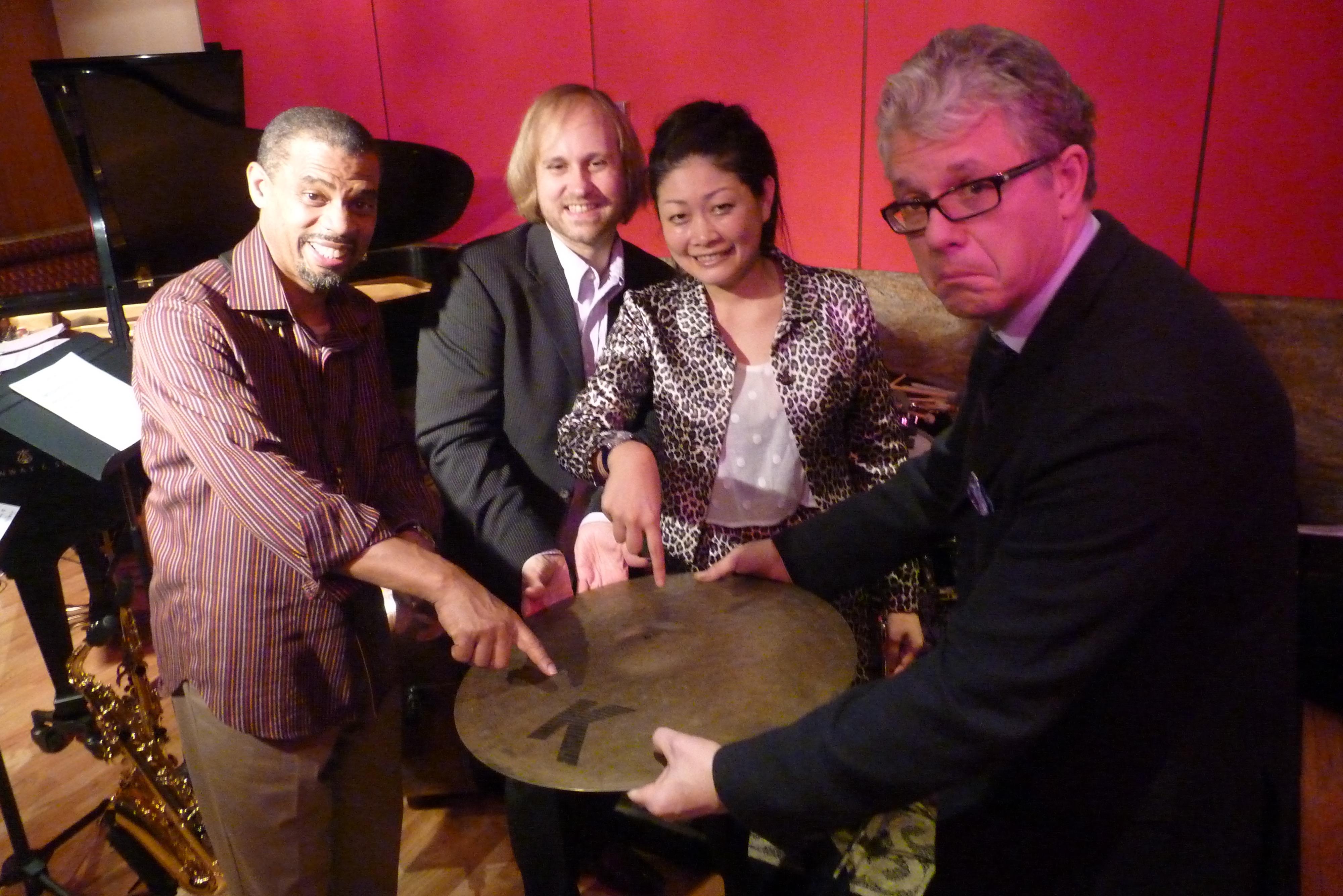 Kyoko Oyobe Quartet at Jazz at Kitano 2013