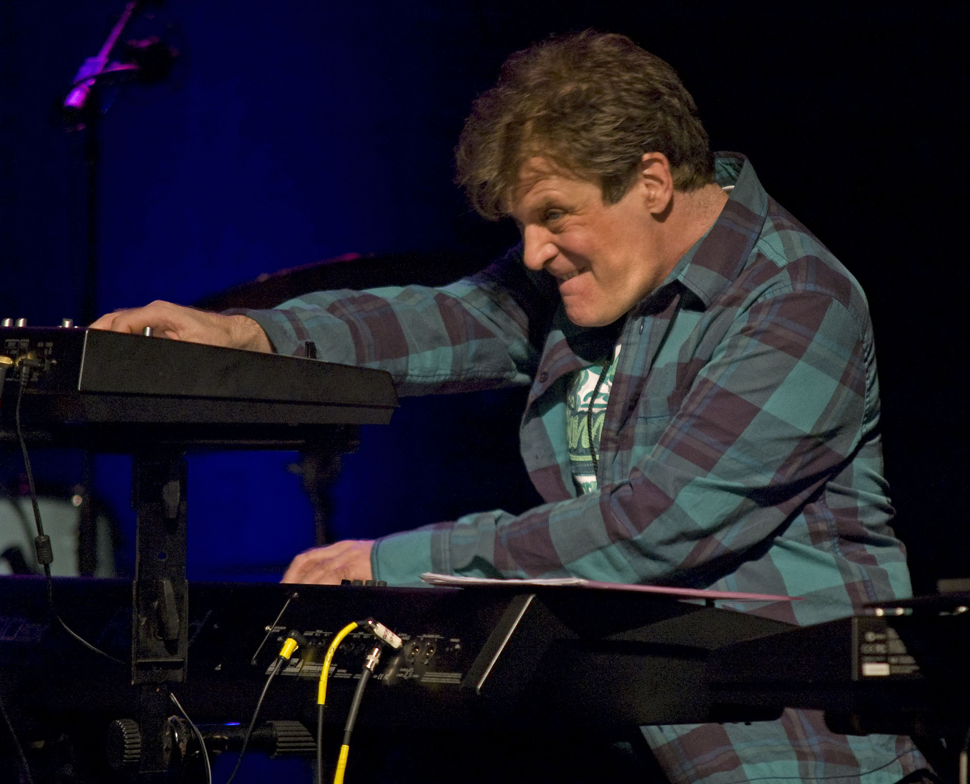 Gary Husband, Performing with John McLaughlin and the 4th Dimension at the 2010 New Universe Music Festival