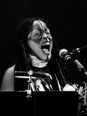 Matana Roberts, Mrs Festival, June 2006, Germany
