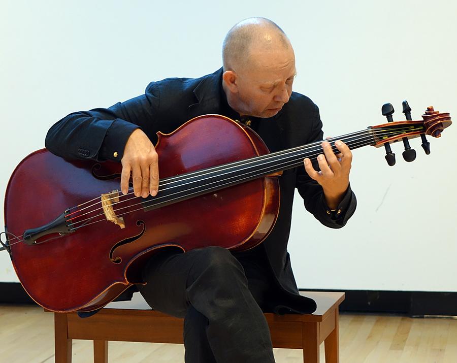Ernst Reijseger at Guelph 2014