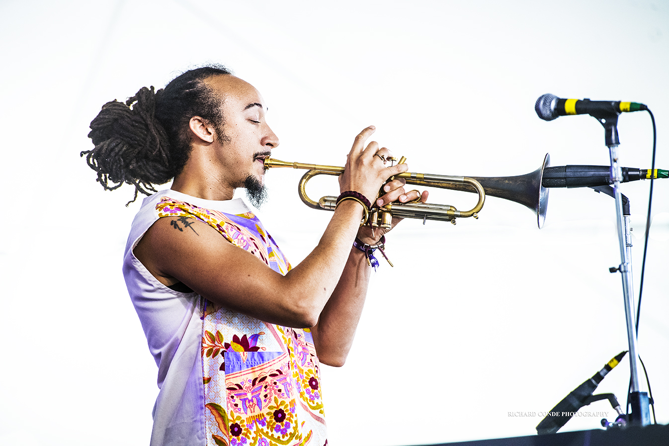 Theo Croker at the 2017 Newport Jazz Festival