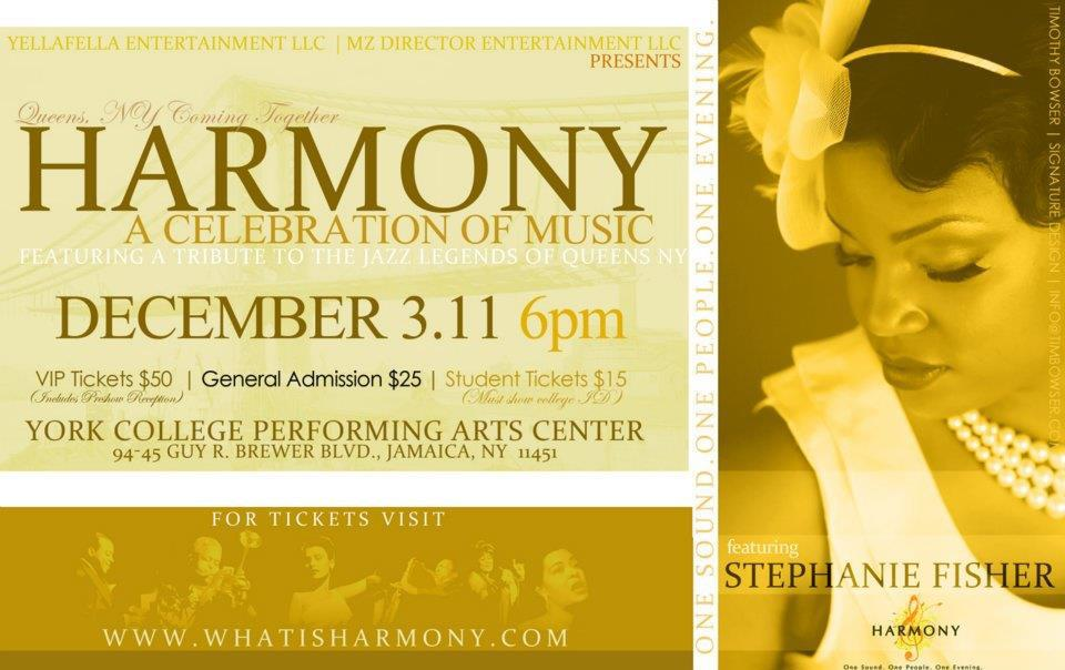 Harmony: Queens, NY Coming Together