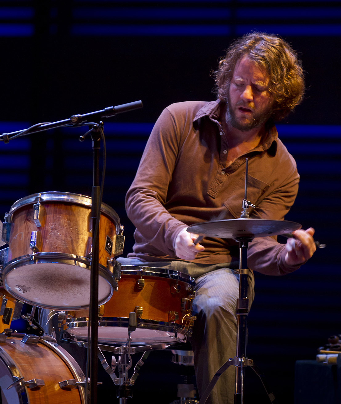 Billy Martin (Medeski, Martin & Wood - Unplugged in Amsterdam)
