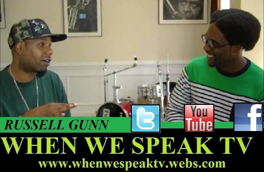 Russell Gunn with Jermaine Sain of when we Speak