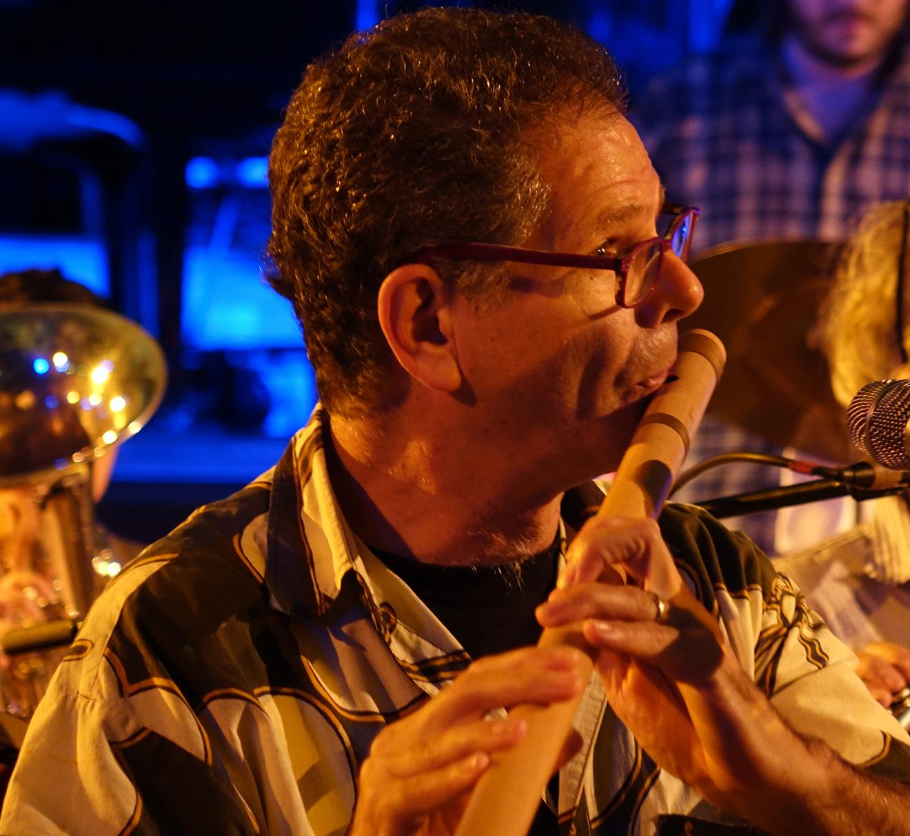 Steve Gorn at Vision Festival 20
