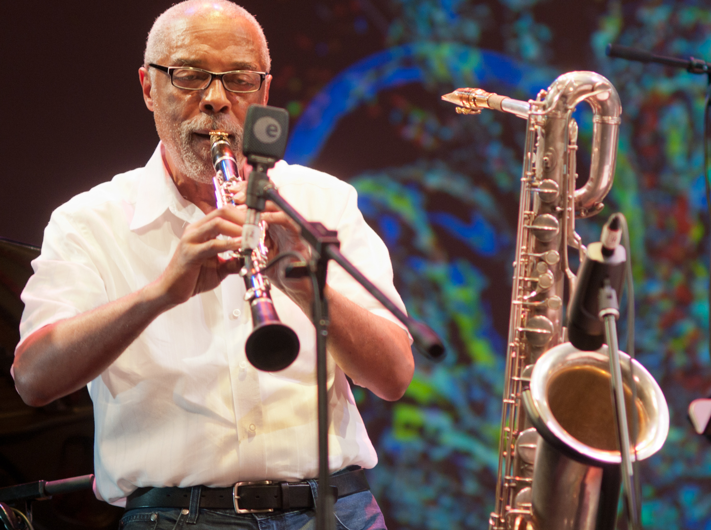 "Hamiet Bluiett with ""The Group"": A Tribute to Marion Brown & Billy Bang at the Vision Festival 2011"
