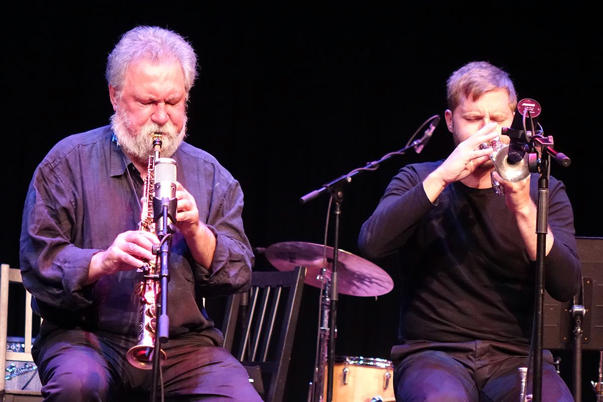 Evan Parker & Peter Evans at Guelph Jazz Festival 2015