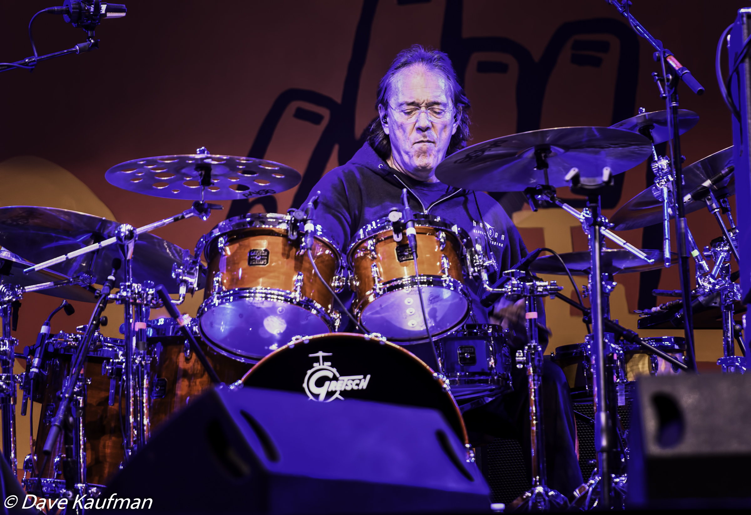 Vinnie Colaiuta with Herbie Hancock at the Monterey Jazz Festival