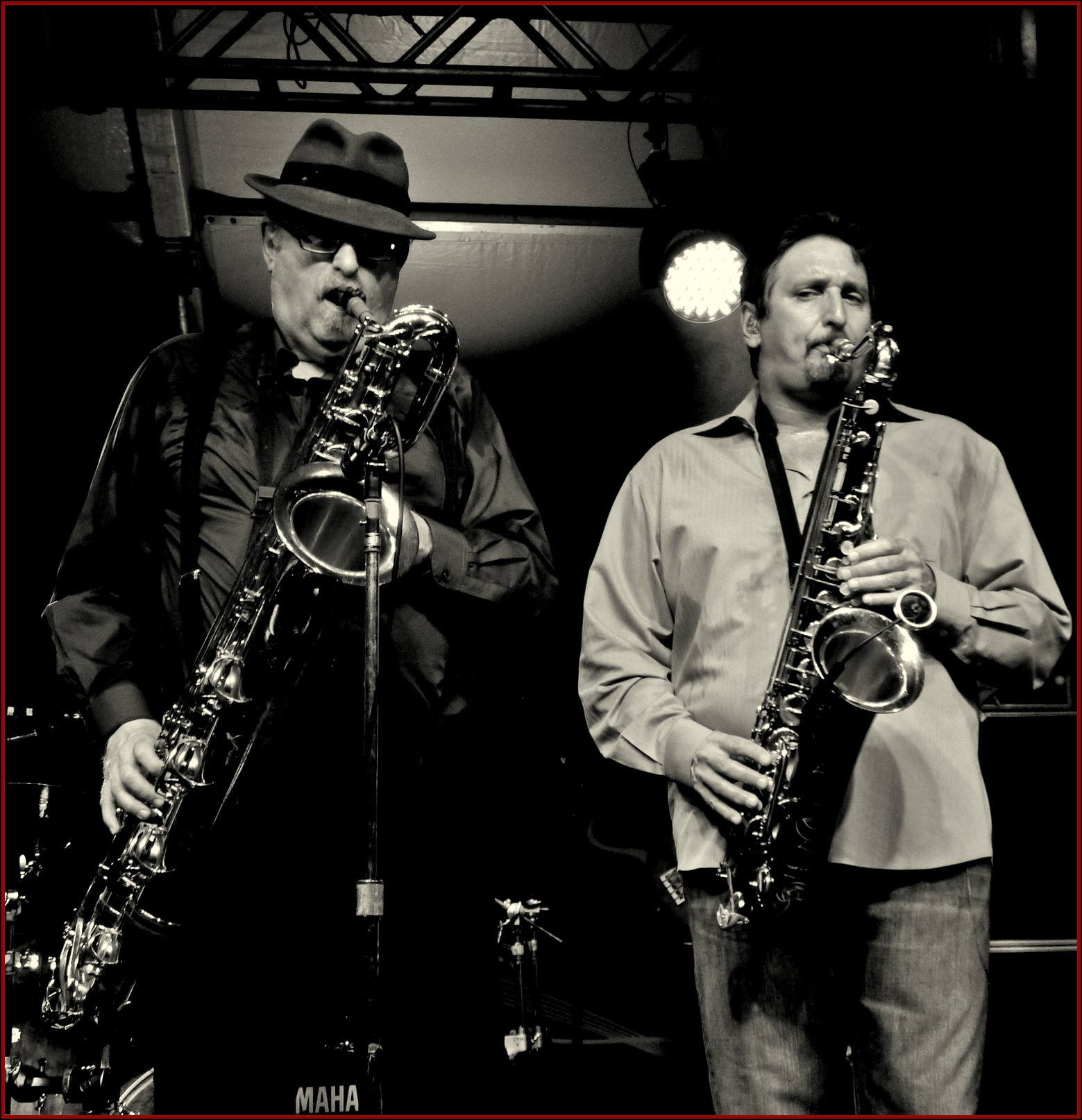The Bigger the Man, the Bigger the Sax (Tower of Power)