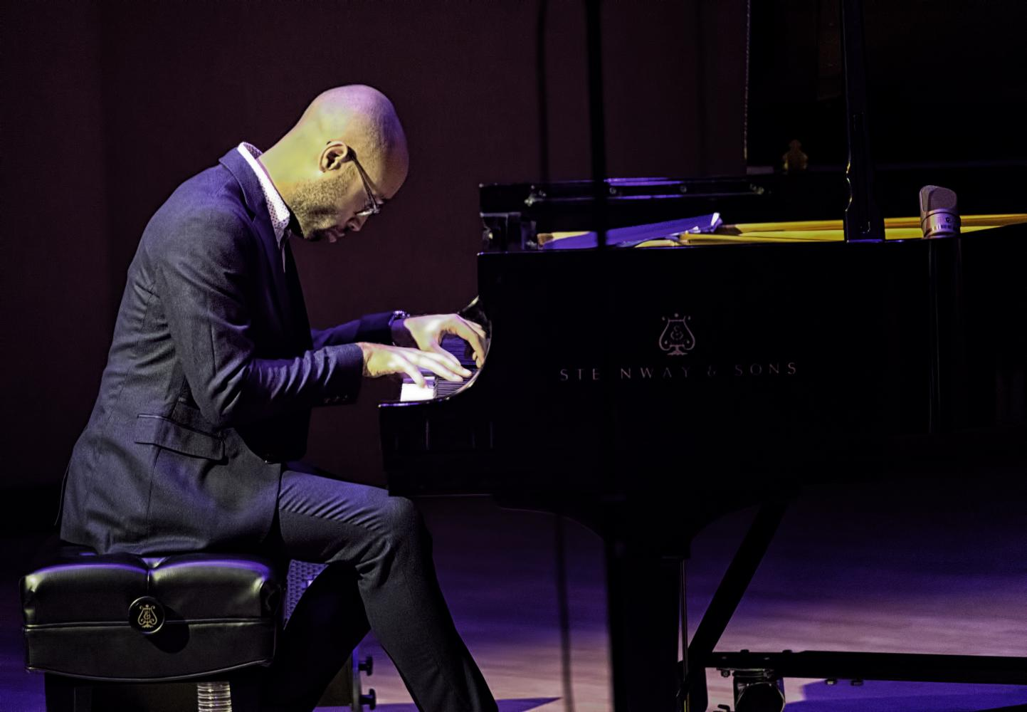 Aaron Diehl With Cecile Mclorin Salvant At The Musical Instrument Museum (mim) In Phoenix