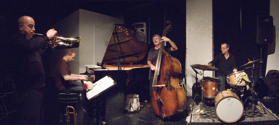 Mario Pavone Project with Steven Bernstein, Craig Taborn and Michael Sarin - The Stone 2007