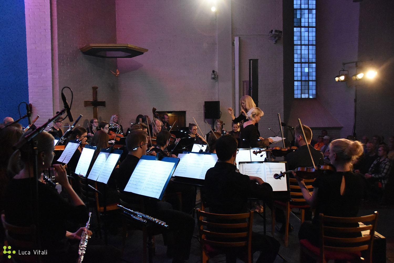 Maria Schneider with Trondheimsolistene ensemble and Eir Inderhaug