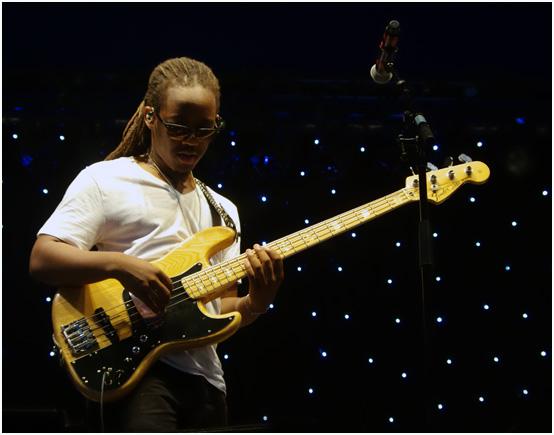 Louis cato, marcus miller group, love supreme jazz festival