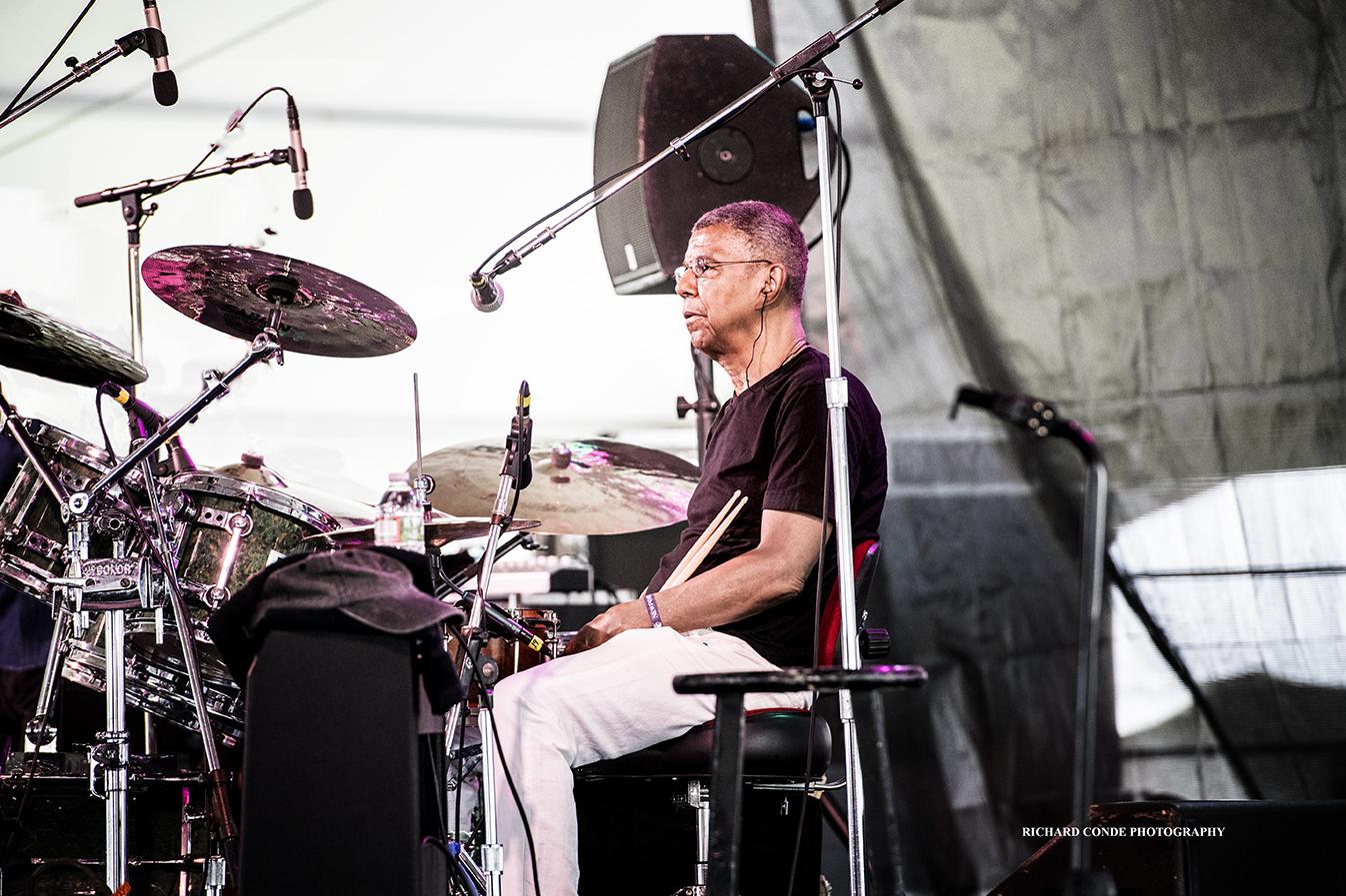 Jack DeJohnette at the 2017 Newport Jazz Festival