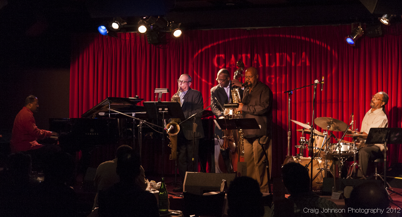Eric Reed, Gary Smulyan, Trevor Ware, Dale Fielder & Don Littleton @ Catalina's 101712