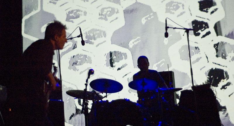 John Paul Jones and Arve Henriksen, Performing with Supersilent at Punkt 2010