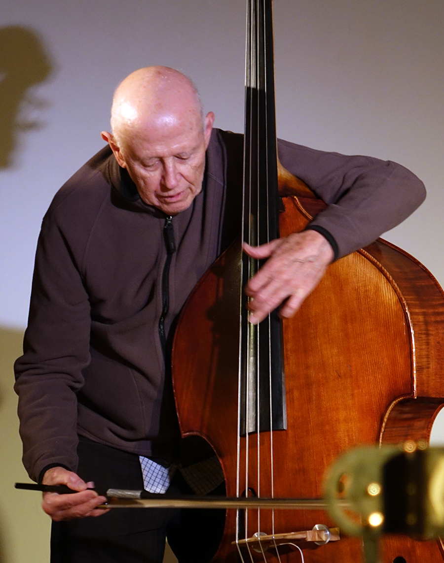 Barre Phillips at Guelph 2014