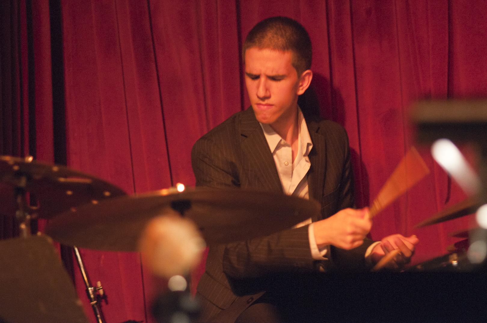 Evan Sherman with the Ken Fowser Quintet at Smoke Jazz Club
