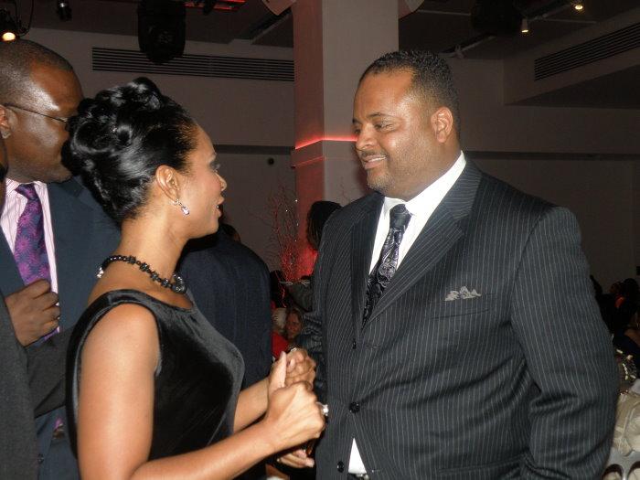 Stephanie Jordan and Roland Martin