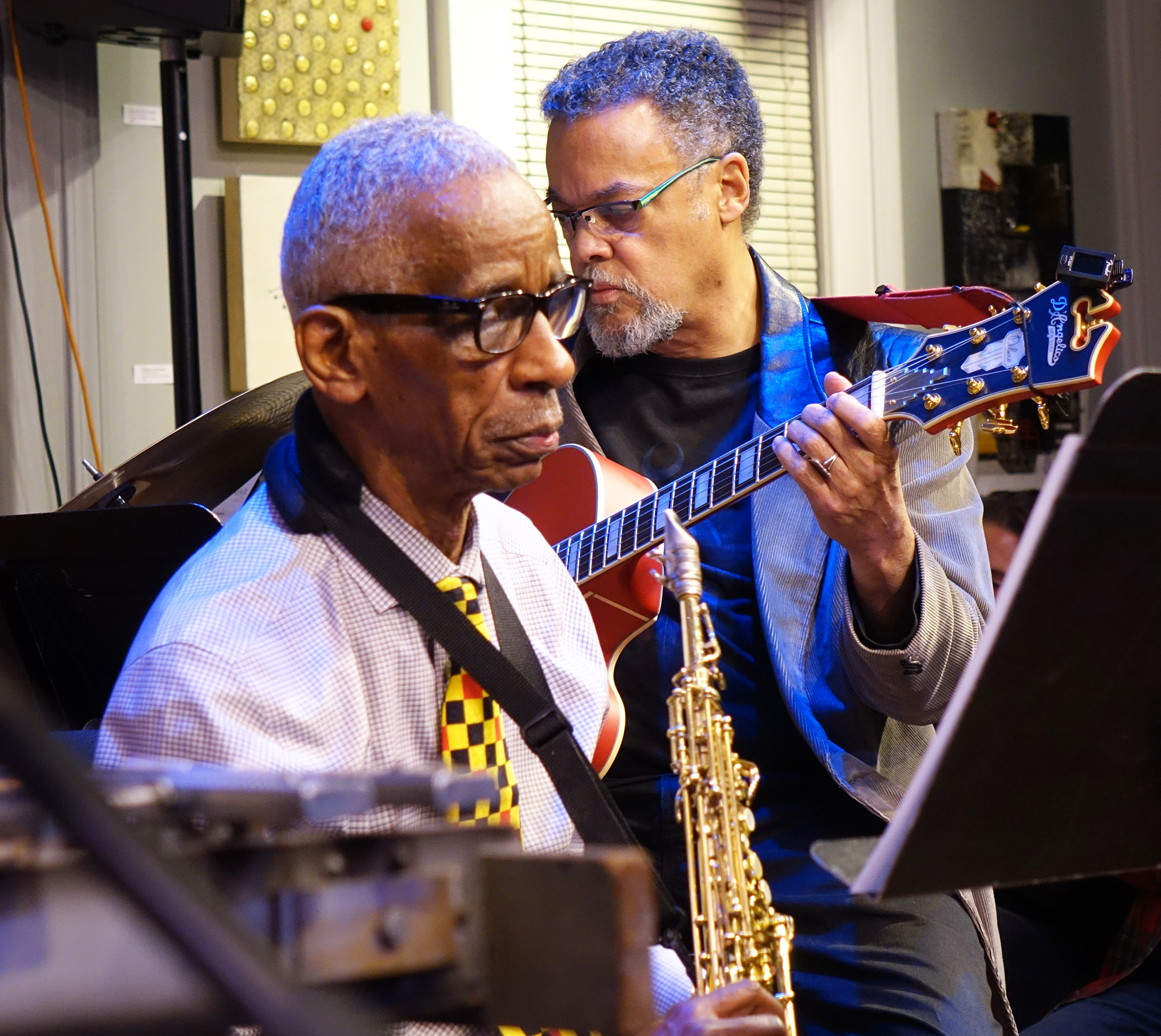 Roscoe Mitchell & A. Spencer Barefield at Edgefest 2018