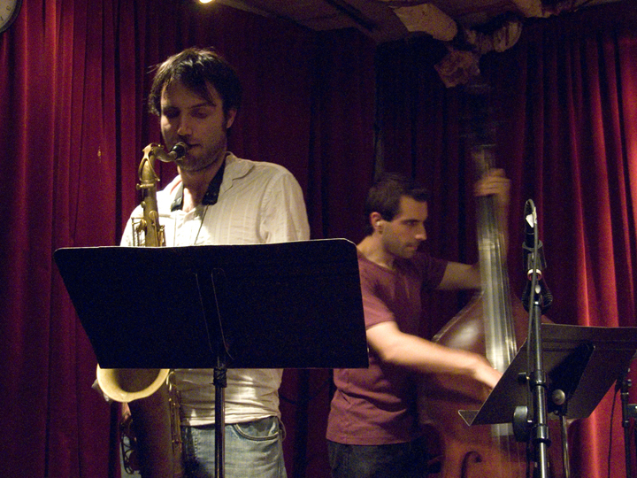 Thomson Kneeland and Sam Sadigursky (with Ethan Winogrand Quartet) - Cornelia St 2007