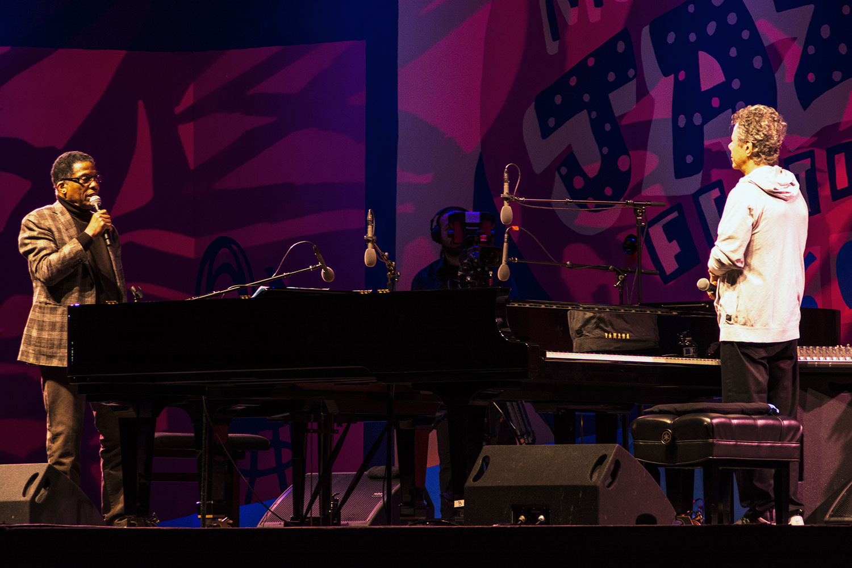 Herbie Hancock, Chick Corea at Monterey Jazz Festival 2017