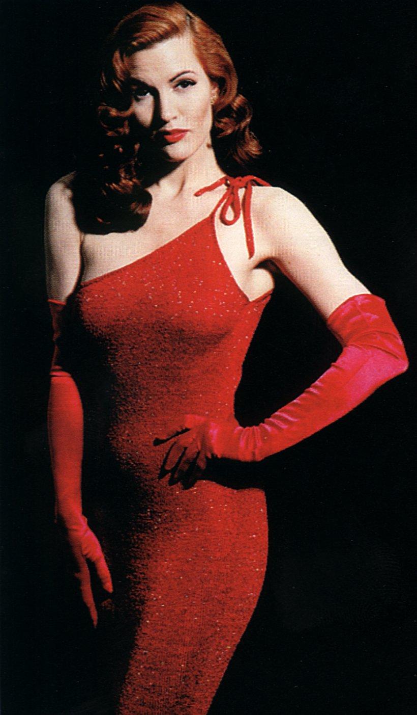 Quinn Lemley in Red Dress