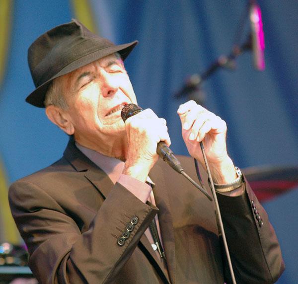Leonard Cohen Molde 2009