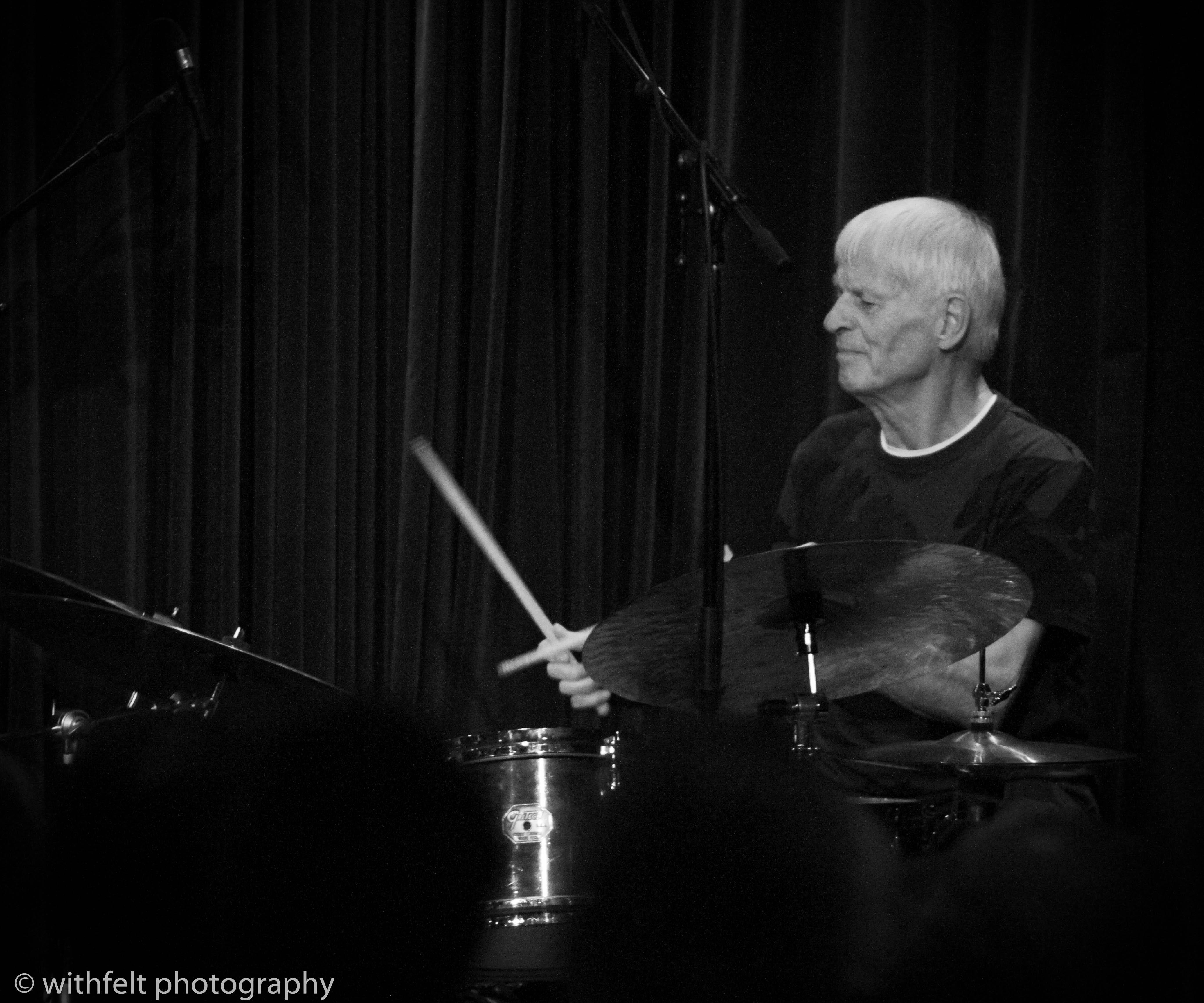 Alex Riel ( Riel / Mikkelborg / Stief / Dahl ) at Jazzhus Montmartre in Copenhagen, Denmark 25.08.2018