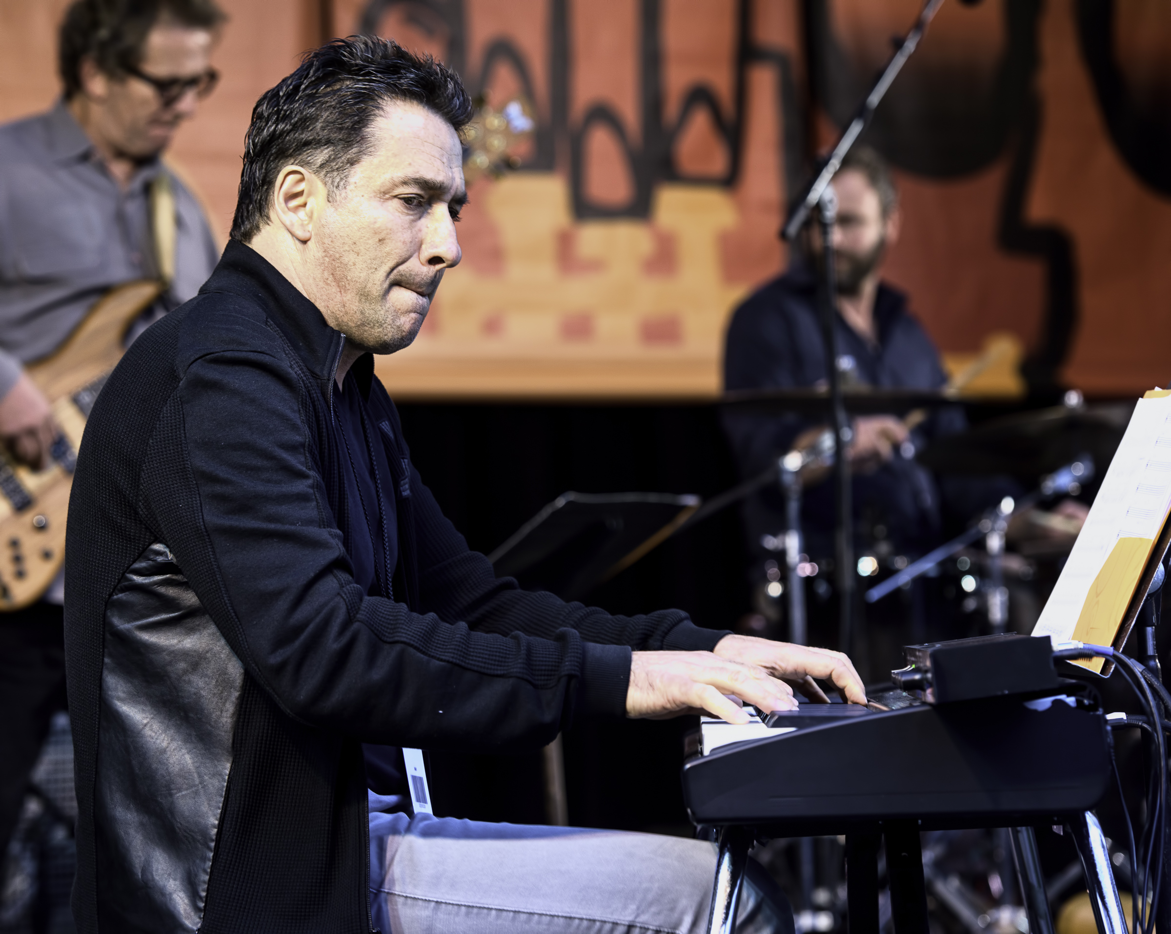 Peter Horvath with the Ray Obiedo Latin Jazz Project at the Monterey Jazz Festival