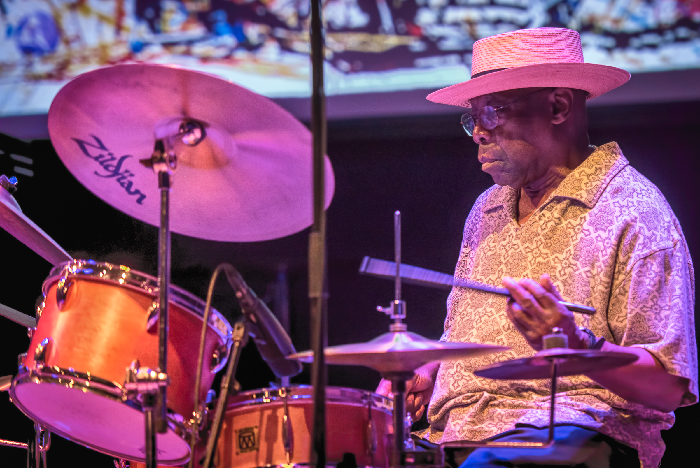 Andrew Cyrille with the Dave Burrell Quintet At the Vision Festival 2018