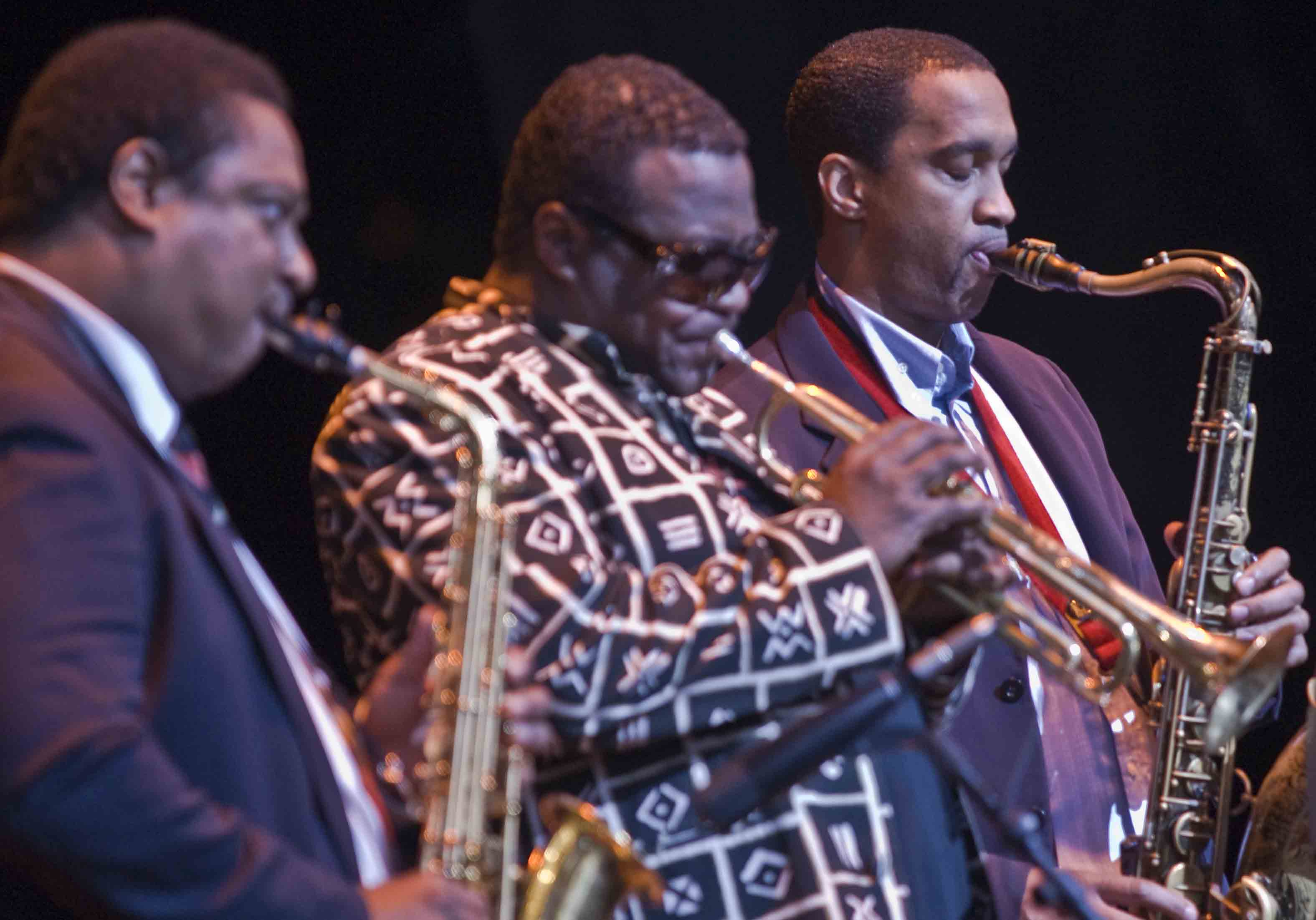Vincent Herring, Wallace Roney & Javon Jackson