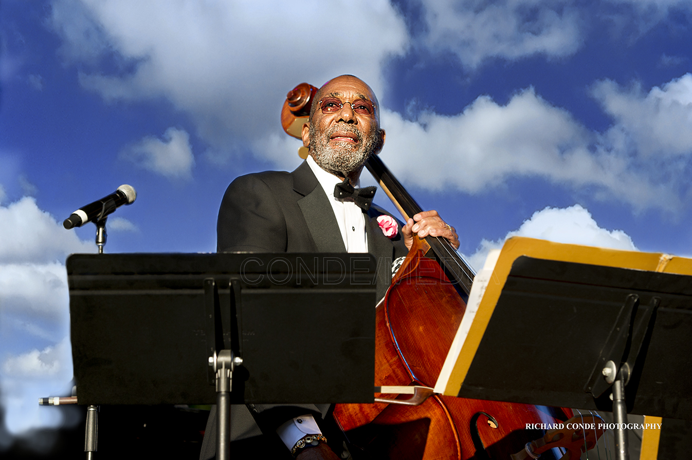 Ron Carter at the Detroit Jazz Festival