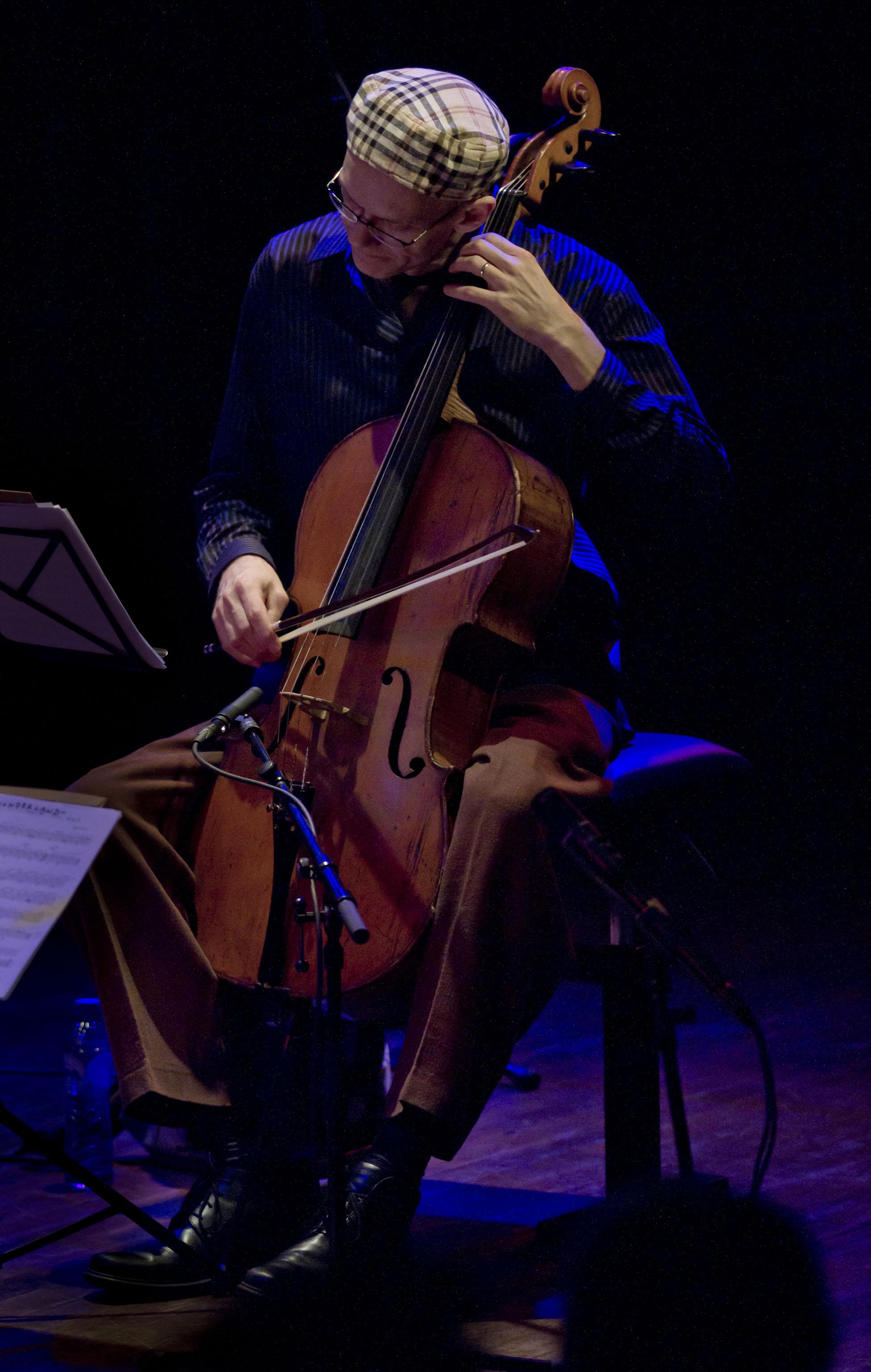 Hank Roberts (Bill Frisell 858 Quartet)