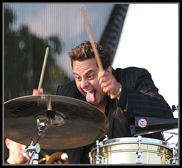 Tito Puente Jr and His Band Performed at the Afican Festival of the Arts in Chicago's Washington Park on September 3, 2006.