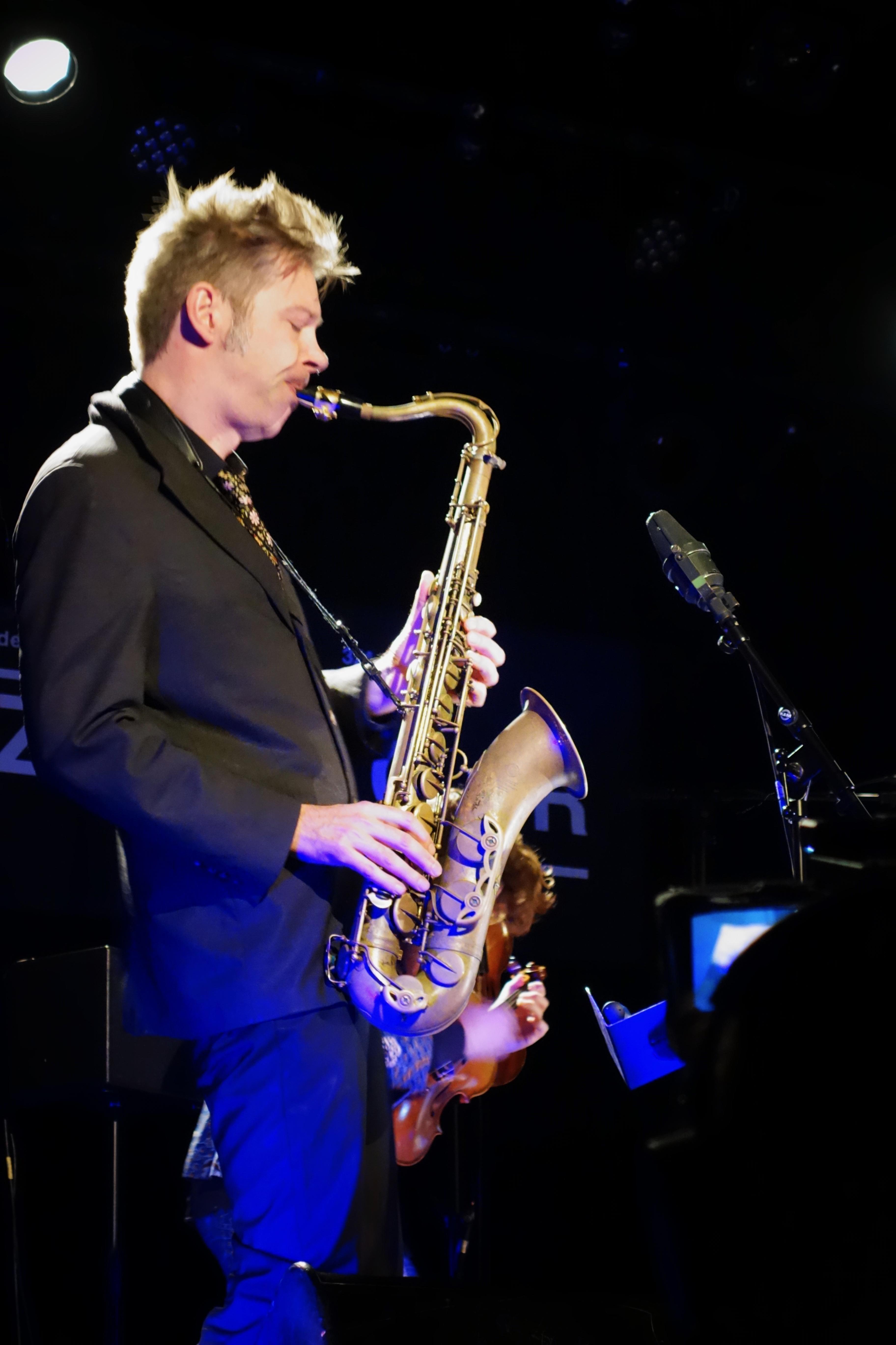 Daniel Erdmann, Jazzdor Strasbourg 2017