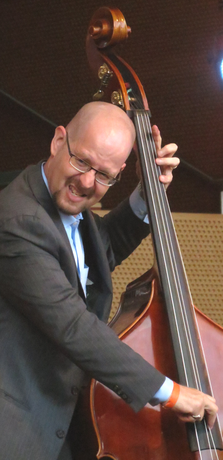 Michael karn with jimmy heath quartet at 2013 chicago jazz festival