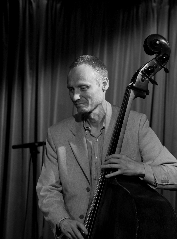 Jimmi Roger Pedersen, Bass on Jazzhus Montmartre, Copenhagen, Denmark