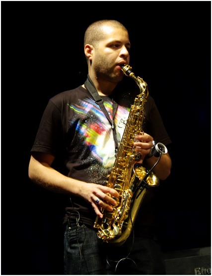 Alex han, marcus miller group, love supreme jazz festival