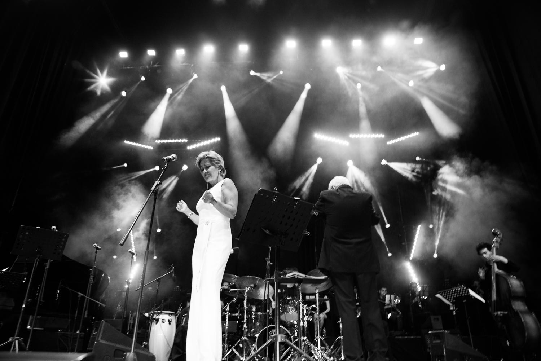 Andrea Tessa and Carl Hammond Big Band