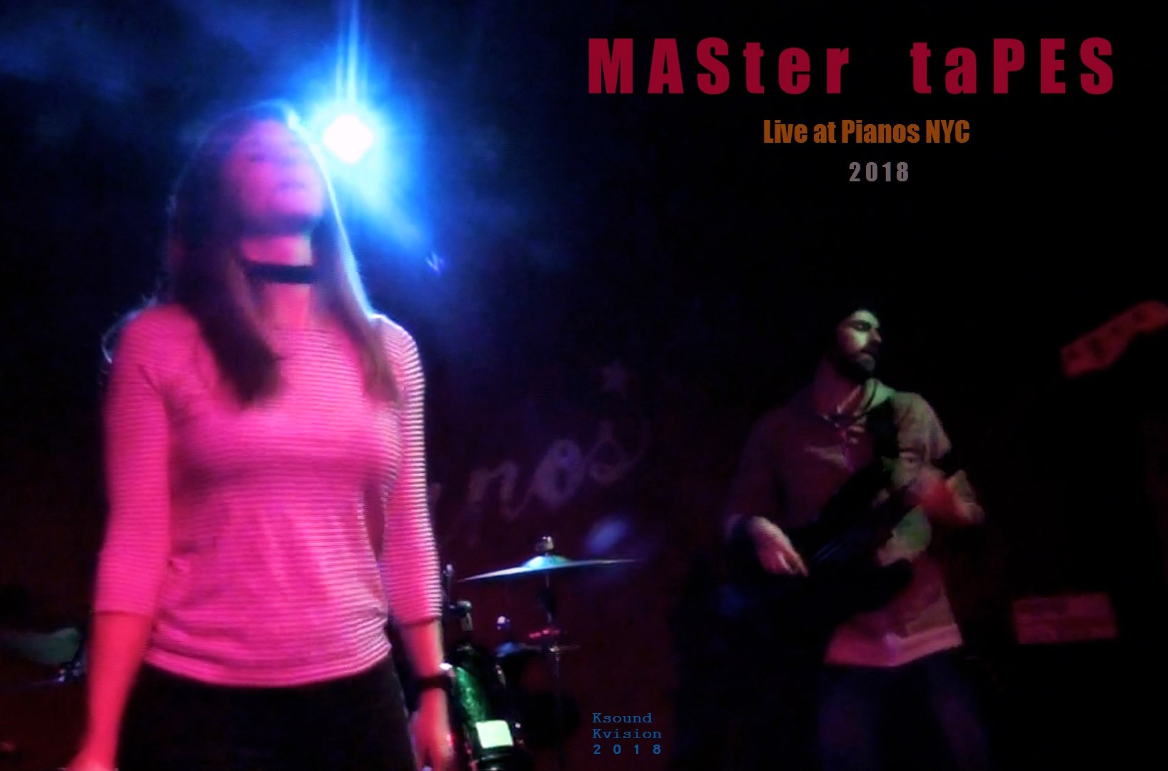 MASTER TAPES (live @ Pianos March 13 2018)