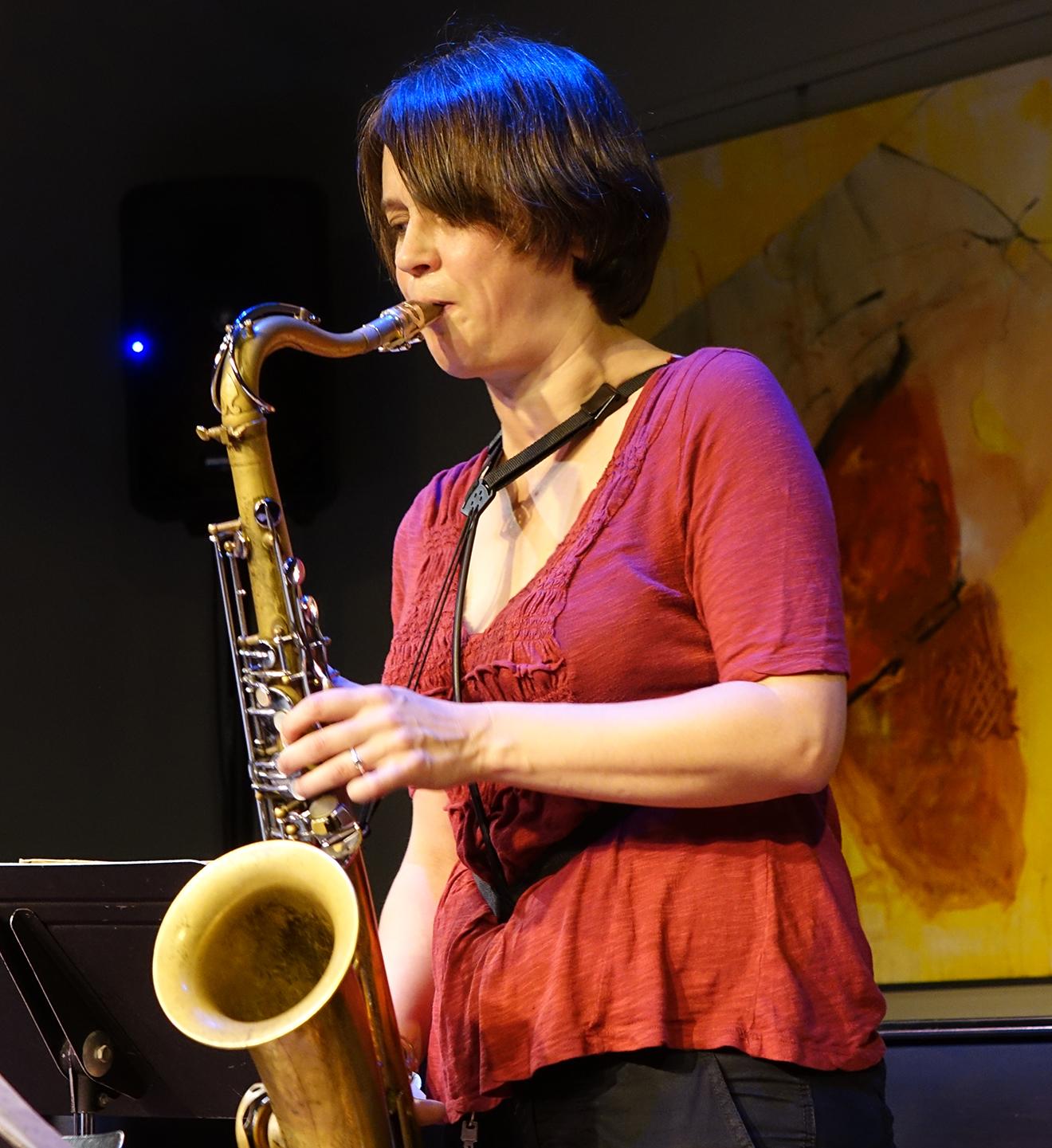 Ingrid Laubrock at Edgefest 2015