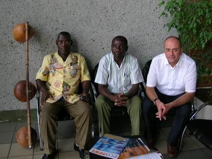 Roberto Magris in Gabon