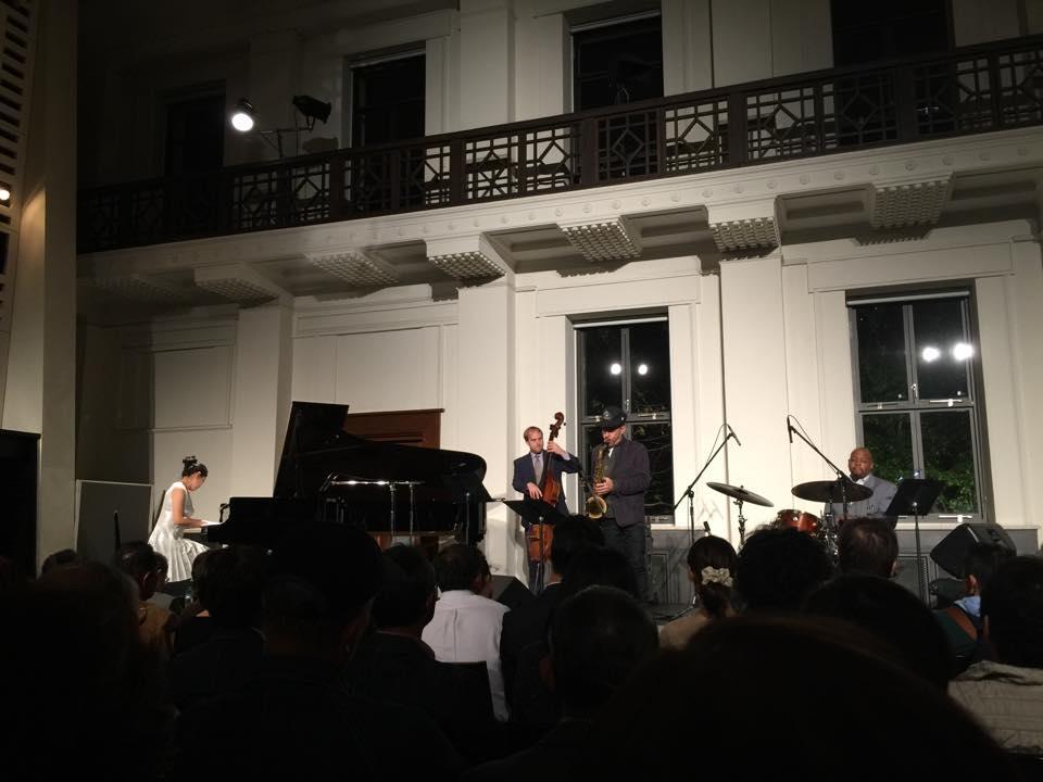 Kyoko Oyobe Quartet Japan tour 2015