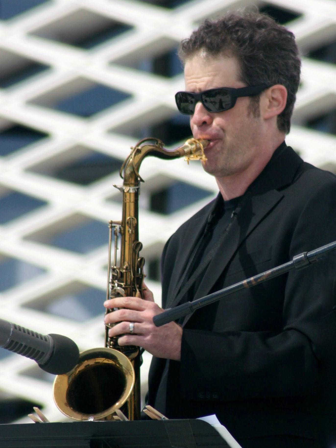 Anton Schwartz at KCSM Jazz on the Hill